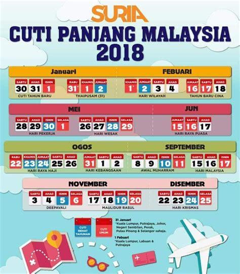 Kalendar Kuda 2018 Mac Kalendar Cuti Umum 2018 Malaysia Holidays
