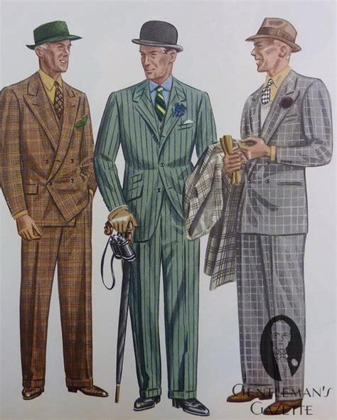 Drape Ties Plaid Amp Chalk Stripe Spring Suits Apparel Arts 1936