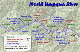 umpqua river maps oregon river experiences