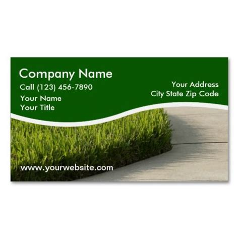 landscaping business cards templates 10 images about lawn care business cards on