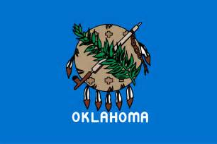 okc colors file flag of oklahoma 1988 2006 svg wikimedia commons