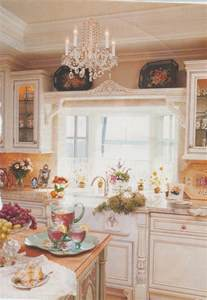 Romantic Homes Decorating Maison Decor Cottage Kitchen Decorated With Tole
