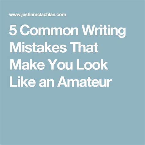Common Business Letter Writing Mistakes 47 best images about write it with style on