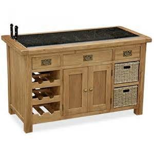 Oak Kitchen Island Zelah Oak Kitchen Island Oak Painted Amp Hardwood