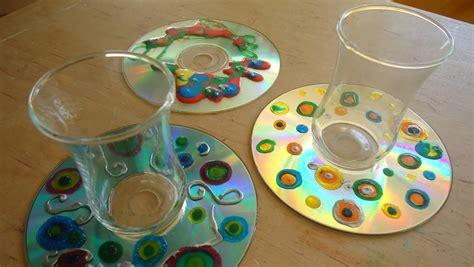 como hacer un trabajo manual de reciclaje posavasos con cd reciclado trabajo manual para ni 241 os