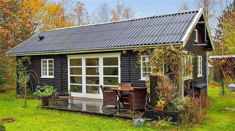 small house whiteangel black and white danish summerhouse by small house bliss
