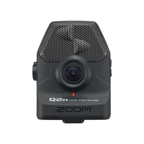 with zoom q2n handy recorder zoom