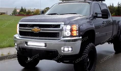 Silverado Light Bar by 120w Led Light Bar W Mount Bracket For 11 14 Chevy