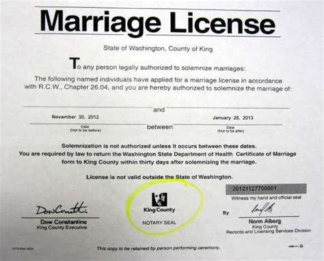 King County Marriage License Records Marriage License Given At Site Of Seattle Rights Struggle Seattlepi
