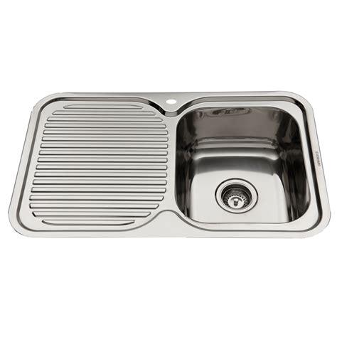 Everhard Sinks by Everhard 780mm Nugleam Single Bowl Right Kitchen Sink