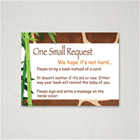 Baby Shower In Lieu Of A Card Bring A Book by Free Printable Baby Shower Bring Book Instead Of Card