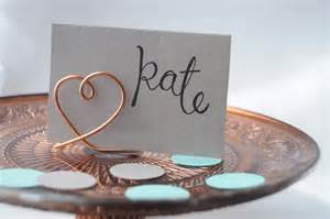 diy place card holders life lisa diy wire place card holders