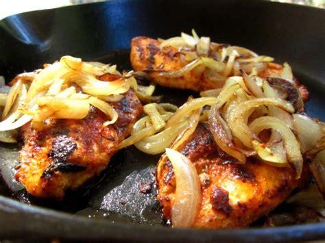 cast iron skillet cajun chicken recipe genius kitchen