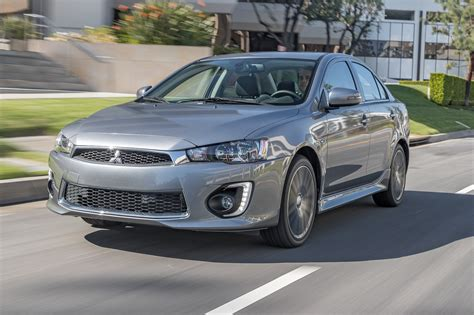 2017 Mitsubishi Lancer 2 4 Awd Test Review