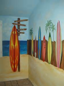 surf wall murals surfboard archives hand painted murals for children