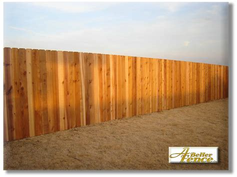 6 X 8 Unfinished Western 5 8 Quot X 6 Quot Solid Board Western Cedar Privacy Fence