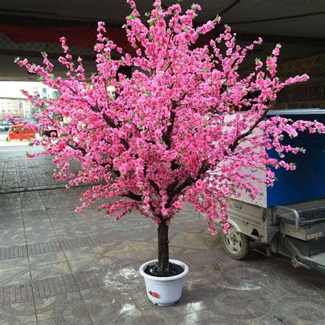 cheap artificial cherry blossom tree silk cherry blossom