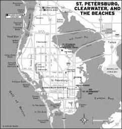 map of clearwater florida and surrounding areas the best of ta and st petersburg in three days moon