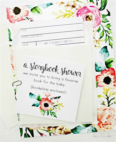 Storybook Themed Baby Shower Invitation Wording by Storybook Baby Shower My Fabuless