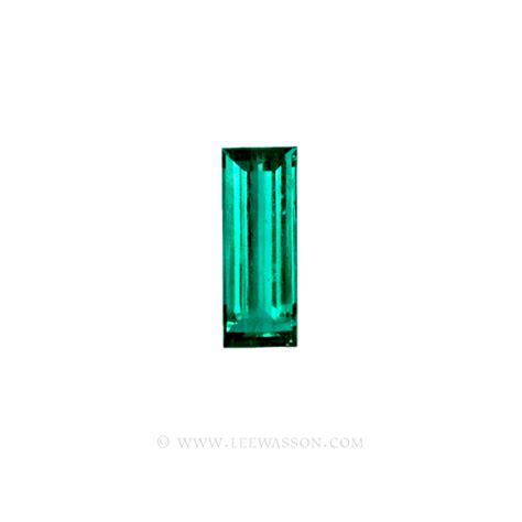 emeralds baguette cut