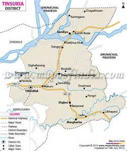 tinsukia district map