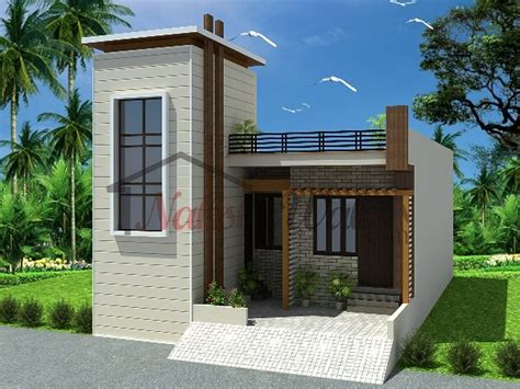 Single Story House Elevation | single house front elevation www pixshark com images