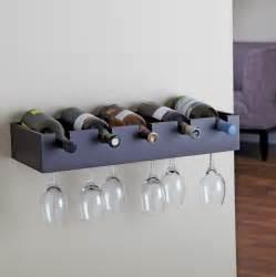 White Wire Shelves by Wine Glass Rack Wall Mount Shelf Home Design Ideas
