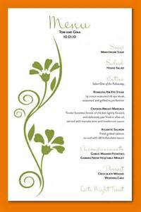 wedding menu cards custom menu card design 01 png scope of work template