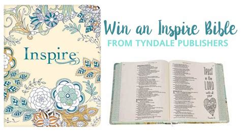 inspire praise bible nlt books earn free books with tyndale rewards a giveaway