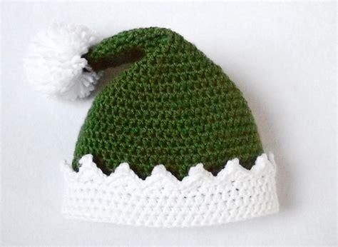 pattern for father christmas hat little helper crochet elf hat allfreecrochet com