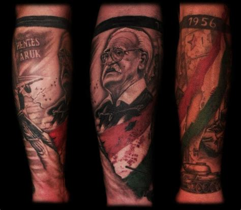 hungarian tattoos 1956 hungarian revolution by dzsedi on deviantart