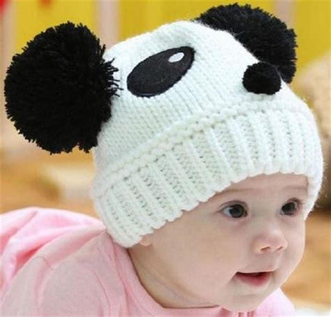 Jo In Baby Hat baby stretchy winter panda hat just 3 55 shipped