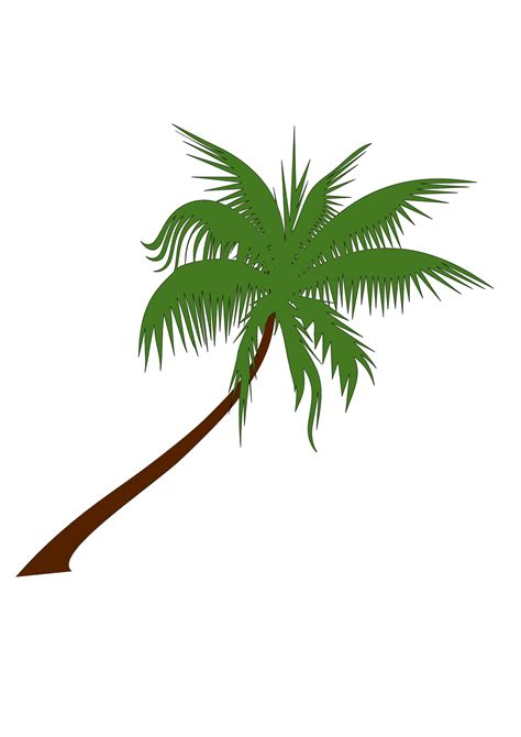palm tree svg vector palm tree clipart best