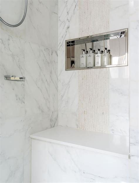 Bathroom Tile Designs Ideas by Shower Niche Design Ideas