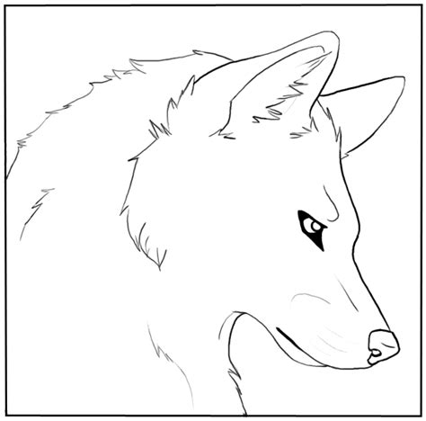 Coloring Page Wolf Head | realistic dragon head coloring pages memes