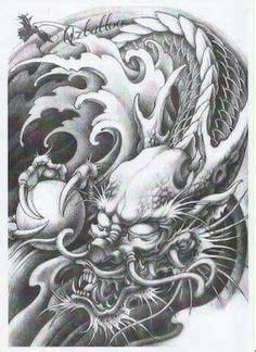 black dragon tattoo urbana resultado de imagen de dragon chino tattoo black and white