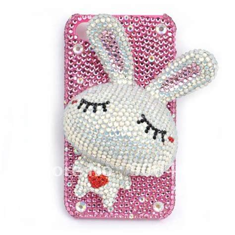 Handmade Cell Phone Cases Bling - free shipping handmade rhinestone pink bling cell