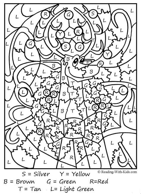 difficult coloring pages for christmas kleurplaat met engelse woorden kerst werkbladen