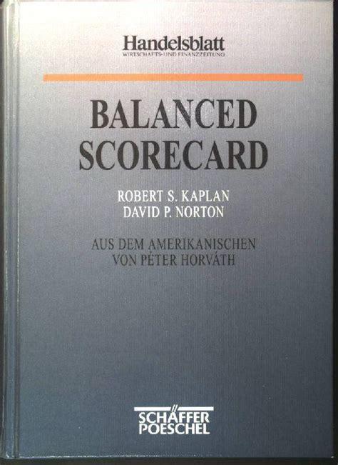 Balanced Scorecard By Robert S Kaplan robert s kaplan david p norton zvab