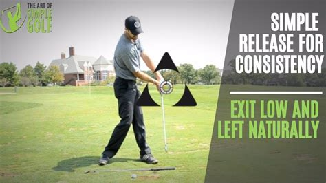 Golf Swing Drills by Golf Swing Release Try Low And Left For Great