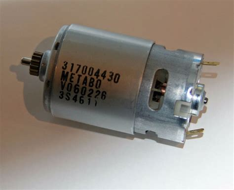 motor metabo bs  bs  quick gleichstrommotor