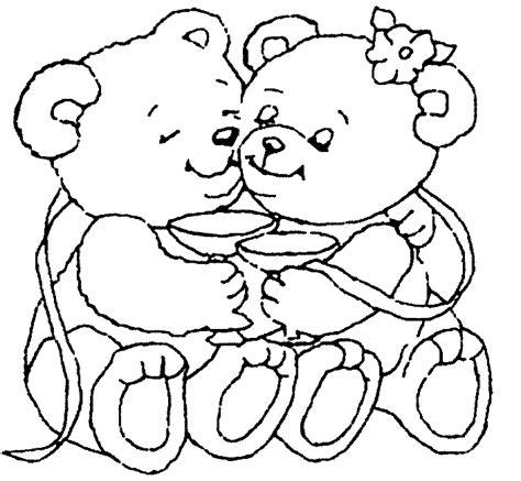 imagenes a lapiz de osos dibujos de ositos amorosos para decorar y regalar