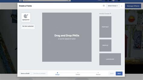 fb frame how to create a custom facebook profile frame 3 free