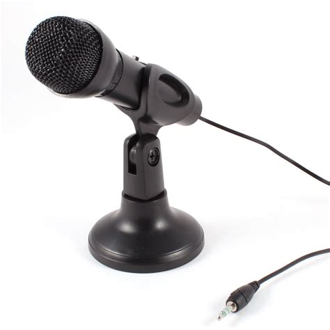 computer microphone omnidirectional laptop pc computer 3 5mm network stand