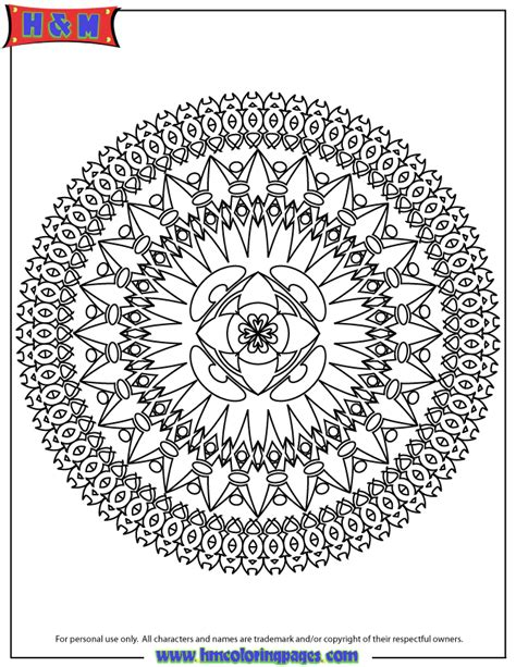 free coloring pages of very hard mandala