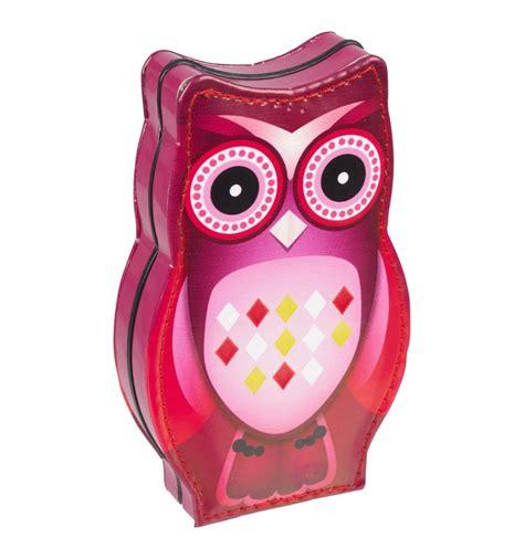 Set Kutung Velvet Owl 7pc owl manicure set 456959