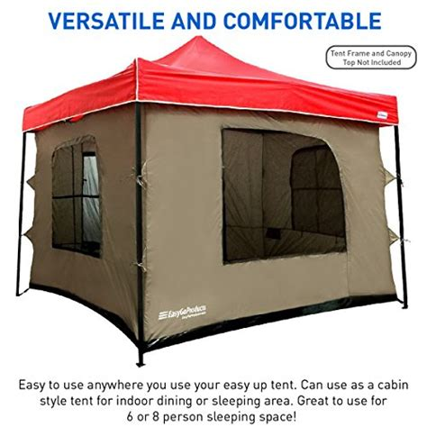10 X10 Canopy Floor by Cing Tent Attaches To Any 10 X10 Easy Up Pop Up Canopy
