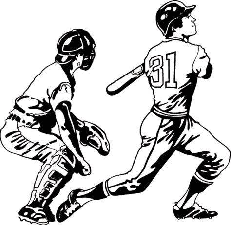Coloriage Sports Baseball 224 Colorier Allofamille