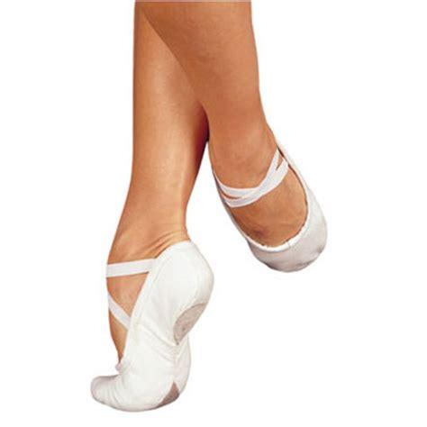 sansha pro 1c canvas split sole ballet shoes
