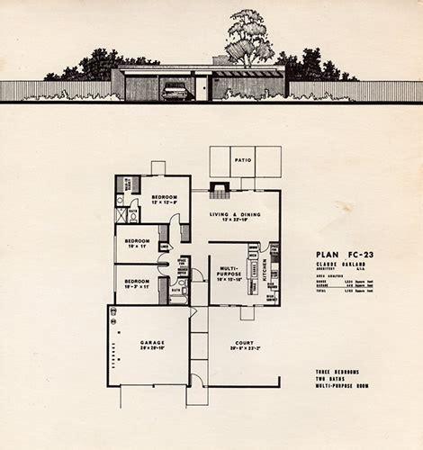 Eichler Floor Plan Foster City Eichler Floorplans Kevin Gardiner